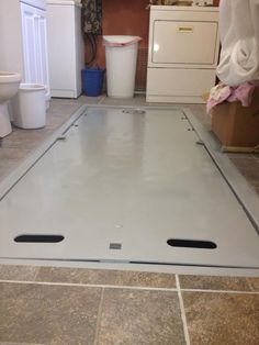 Storm Shelter in Laundry Room - What a smart person would do, right?