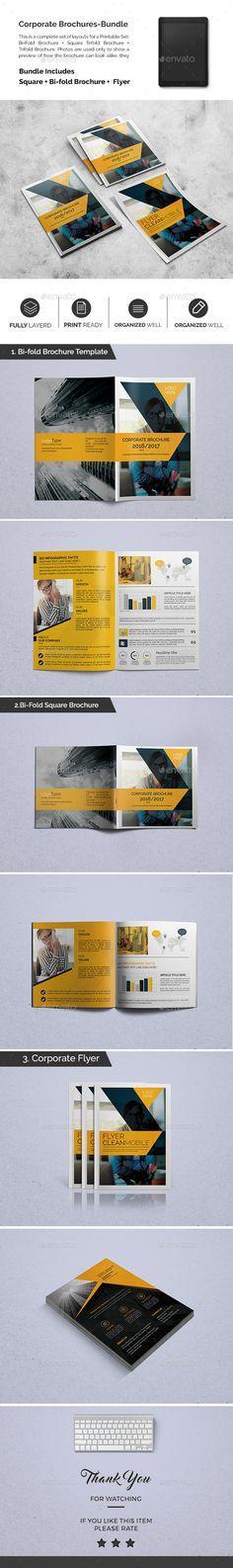 Corporate Brochures Design Bundle 03 - Catalogs Brochure Template PSD. Download here: http://graphicriver.net/item/corporate-brochures-bundle-03/16896919?s_rank=46&ref=yinkira