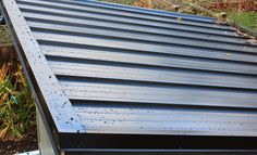 metal shed roof covering metal shed roof covering pros and cons of metal roofing for sheds gazebos and barns 1152 x 768 auf Metal Shed Roof Covering Shed Roof Covering, Metal Shed Roof, Lean To Shed, Modern Shed, Greenhouse Plans, Shed Plans, Garden Design, Image, Elegant