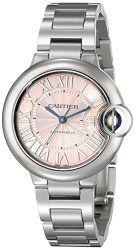Cartier Women's W6920100 Analog Display Swiss Automatic Silver-Tone Watch