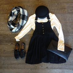 change up your style this winter with our super cute overall dress just add a