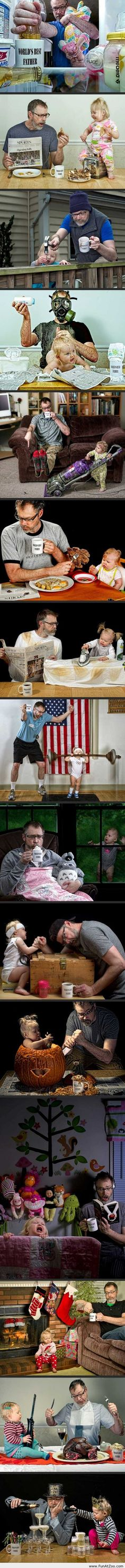 Funny pictures with Father of the year - Funny Picture