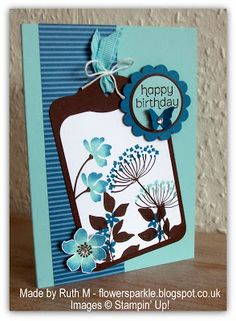 Ruth Muzeen http://flowersparkle.blogspot.co.uk/2013/06/two-su-birthday-cards.html