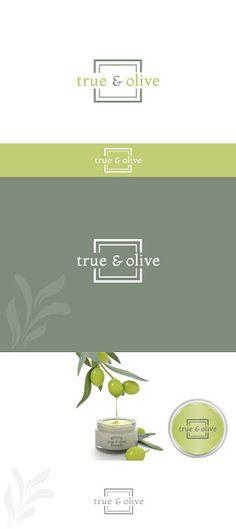 "Aylin Hakova Graphic Design: Лого дизайн за ""True & Olive"" медицински органични..."