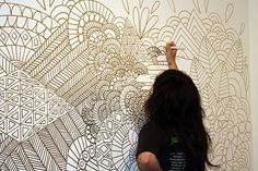 Wall drawing