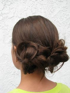 Too Cute Up Do, don't think I can do this on my own though :(
