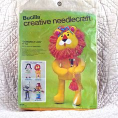 Stuffed Doll Kit Cowardly Lion Dorothy & by DartingDogCrafts