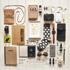 What Is Knolling? The Overhead Photography Trend Explained ~ Creative Market Blog