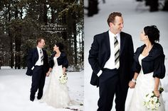 A gorgeous winter wedding in the Cypress Hills -  Wedding Photographers | 6:8 Photography
