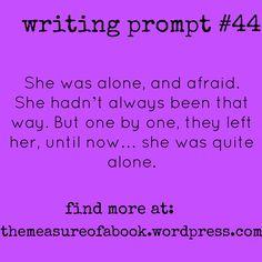 Find writing prompts at: themeasureofabook.wordpress.com #writing #writingprompts