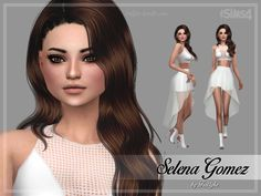 Selena is a young adult with the following aspiration and traits:  Found in TSR Category 'Sims 4 Young Adult Female Sims'
