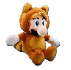 Mario Stuffed Animal Tanooki Mario $5.99