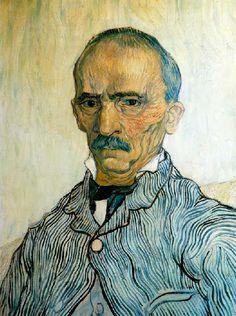 Vincent Van Gogh - Post Impressionism - Saint REMY - Portrait de Trabuc - 1889