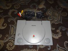 Sony Playstation 1 PS1 SCPH-5501 original console and cords only TESTED WORKS…