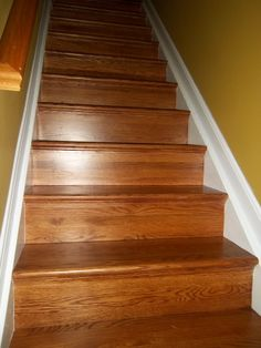 You Will Love The Look Of Hardwood Tread U0026 Riser Covers. You Will Be  Thrilled