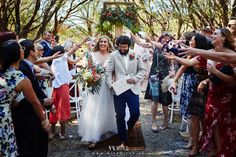 Confetti Wedding. Ceremony area in the Forrest. Venue Solitaire Homestead West Australia  With U photography