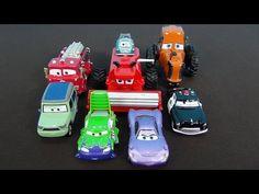 Le Auto 3 in italiano. Giocattoli auto dal fumetto delle vetture. I nomi...
