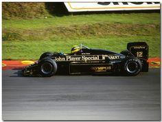 Lotus Renault, Ayrton Senna