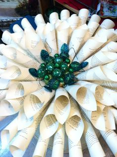A literary wreath