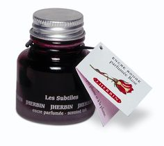 J Herbin Scented Fountain Pen Ink // Rose scented pink fountain pen ink - I. Need. This. - FashionFilmsNYC.com