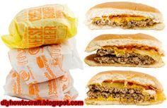 McDonald's Cheeseburger Secret Recipe  http://diyhowtocraft.blogspot.com/2012/06/mcdonalds-cheeseburger-secret-recipe.html