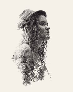 30+ Awesome Double Exposure Portrait Ideas