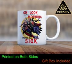 Hocus Pocus Mug | Oh Look, Another Glorious Morning | Witches | Witch Mug | Winifred | Sanderson Sisters | Cuevex Mugs