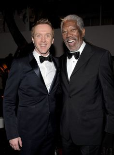 Morgan Freeman and Damian Lewis