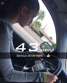 She is sooooooooooooo lucky she already can drive