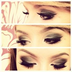 def wanna do this the next time i go out..need to get a gel eyeliner though