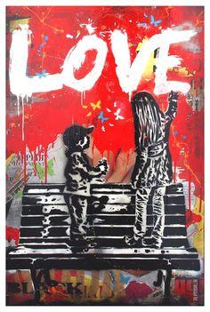 LOVE #street #art #kysa