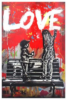 LOVE #street #art #kysa