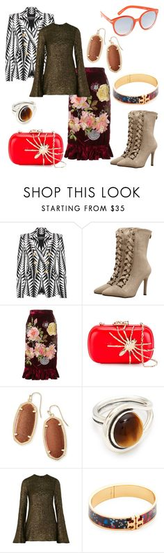 """""""I suspect we'll soon be given orders to withdraw..."""" by black-wings ❤ liked on Polyvore featuring Balmain, Alice Archer, Corto Moltedo, Kendra Scott, Pamela Love, E L L E R Y, Tory Burch and Quay"""