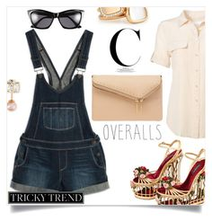 """""""Overalls"""" by letiperez-reall ❤ liked on Polyvore featuring Dolce&Gabbana, Equipment, Paige Denim, Henri Bendel, Roberto Coin, Vita Fede, TrickyTrend and overalls"""