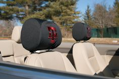 Texas A&M Aggies Headrest Covers Set Of 2