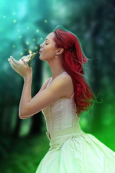 Kiss a Frog Prince Fantasy World, Fantasy Art, Fantasy Photography, Believe In Magic, Up Girl, Prince Charming, Ever After, Belle Photo, Faeries