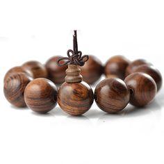 Real Vietnamese black tiger black pear rosewood rosary beads bracelet jewelry men bracelet wood beads elastic bracelets 0355