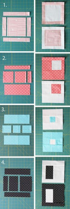 Easy Stack, Cut, and Sew Blocks Tutorial This same type of quilt is exactly what brought me to quilting 12 years ago. Simple, modern looking patchwork like this will always be my first love. I wrote a tutorial for these type of Quilting For Beginners, Sewing Projects For Beginners, Quilting Tutorials, Quilting Projects, Quilting Ideas, Easy Projects, Quilt Block Patterns, Sewing Patterns, Modern Quilt Blocks