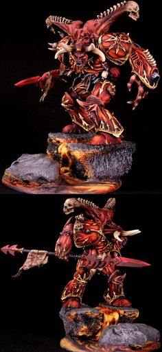 Daemon Prince - Lord of Fire