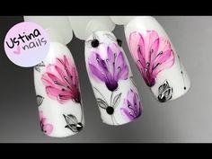 Легкие и воздушные дизайны ногтей гель-лаками Patrisa nail - YouTube Gel Nail Art, Gel Nails, Nail Stencils, Nailart, Finger, Love Nails, Hair And Nails, Nail Art Designs, Pretty
