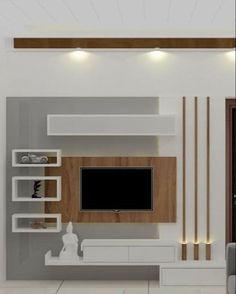 Modern Tv Unit Designs, Modern Tv Wall Units, Modern Tv Cabinet, Modern Tv Room, Tv Unit Furniture Design, Tv Unit Interior Design, Living Room Wall Units, Living Room Tv Unit Designs, Tv Wall Unit Designs
