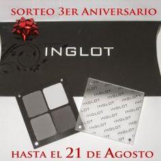Gana una #Paleta Inglot de 4 sombras a elegir por la ganadora ^_^ http://www.pintalabios.info/es/sorteos_de_moda/view/es/3919 #Internacional #Sorteo #Maquillaje