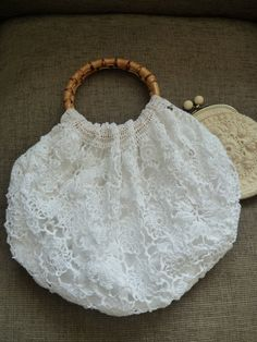 The Granny Bag  In Great Antique Crochet by Aimezvousclassique, £54.80