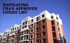 Condominium financing is more difficult than single family homes. For FHA loans, the Condo Complex needs to be FHA approved and good financial standings.