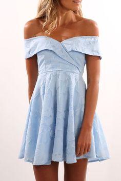Century Dress Blue