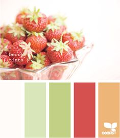 Strawberry colors