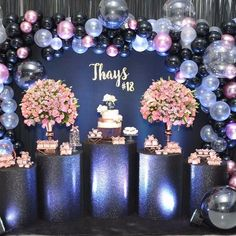 Quinceanera Party Planning – 5 Secrets For Having The Best Mexican Birthday Party Birthday Party Celebration, Birthday Party Decorations, Birthday Parties, Party Themes, Quinceanera Planning, Quinceanera Party, Sweet 16 Birthday, 15th Birthday, Space Party