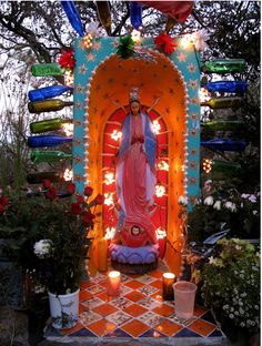 """beautiful """"our lady of guadalupe"""" shrine"""