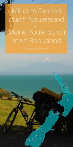 By bike through New Zealand – Home Decorations Best Rafting, My Route, New Zealand Houses, Getting To Know, Great Photos, Road Trip, Journey, Places, Inspiring People