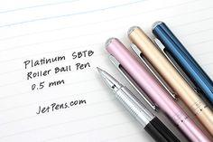 Platinum SBTB-1000H Roller Ball Pens - 0.5 mm http://www.jetpens.com/Platinum-SBTB-1000H-Roller-Ball-Pens/ct/1751